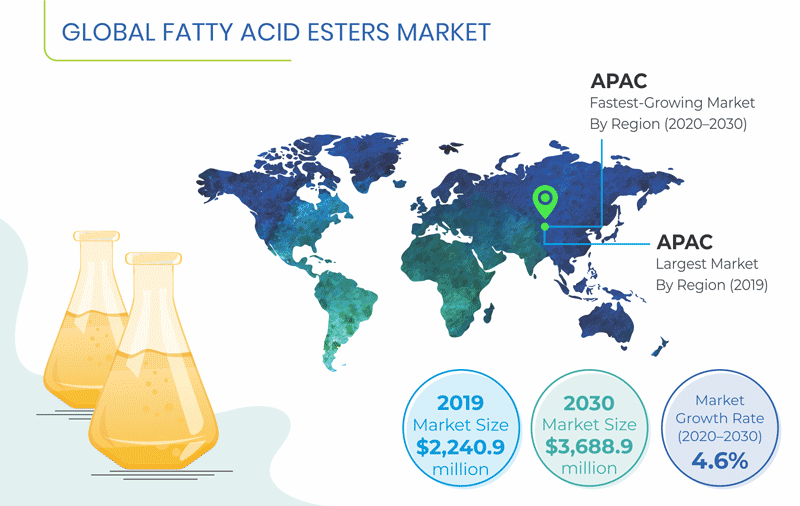 Fatty Acid Esters Market Overview